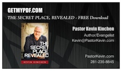 Click on the image to download your FREE PDF DIGITAL version of The Secret Place, Revealed.